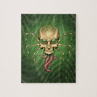 Gran arte extranjero de Lovecraftian del cráneo de Rompecabeza Con Fotos