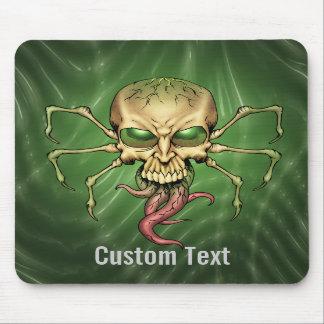 Gran arte extranjero de Lovecraftian del cráneo de Tapetes De Ratón