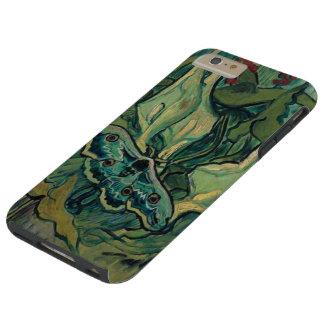 Gran bella arte de Van Gogh de la polilla de Funda Para iPhone 6 Plus Tough