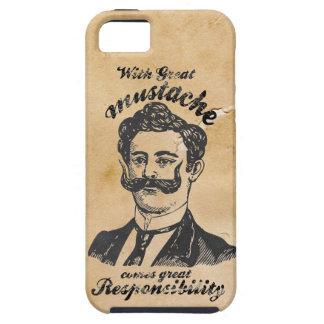Gran bigote iPhone 5 Case-Mate cobertura
