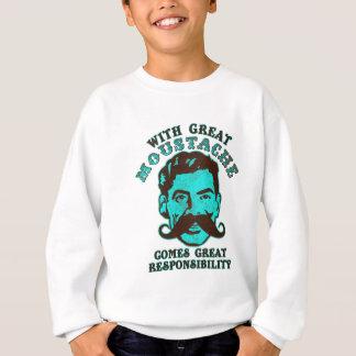 Gran bigote sudadera