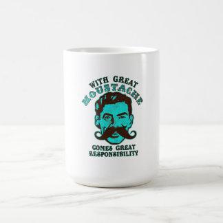 Gran bigote taza clásica