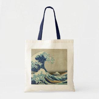Gran bolso de la onda bolsa tela barata