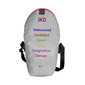 Gran bolso de la personalidad bolsa de mensajería