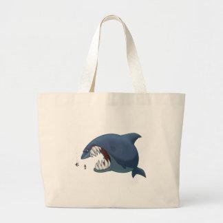 Gran bolso del tiburón blanco bolsas de mano