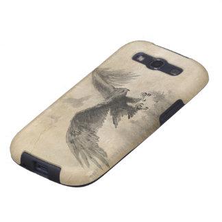 Gran bosquejo de Eagles Galaxy SIII Protectores