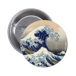 Gran botón de la onda pins
