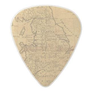 Gran Bretaña antigua Púa De Guitarra Acetal