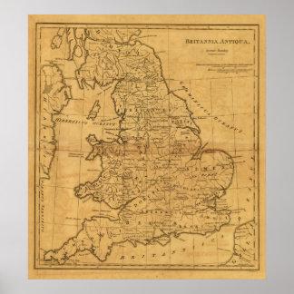 Gran Bretaña antigua Póster