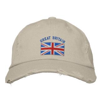 Gran Bretaña bordó el gorra Gorra De Beisbol