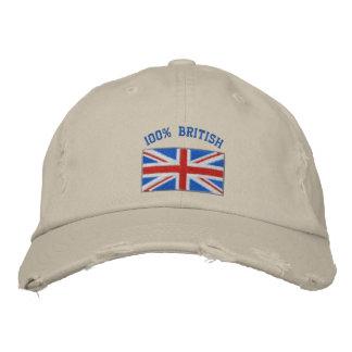Gran Bretaña bordó el gorra Gorros Bordados