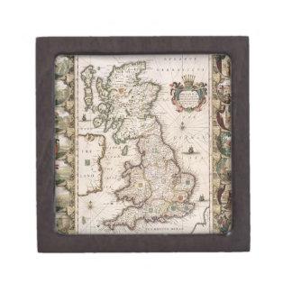 Gran Bretaña como fue dividida en el Tyme del Engl Cajas De Regalo De Calidad