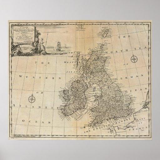 Gran Bretaña e Irlanda Poster