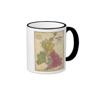 Gran Bretaña e Irlanda Taza De Dos Colores