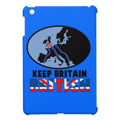 Gran Bretaña fuera de Europa iPad Mini Protector