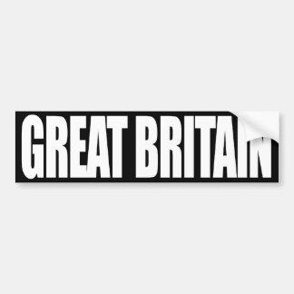 Gran Bretaña Pegatina Para Auto