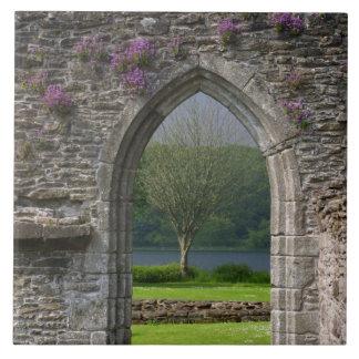 Gran Bretaña, Reino Unido, Escocia. Ruinas Azulejo Cuadrado Grande