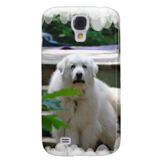 Gran caja blanca del iPhone 3G del perro de los Pi