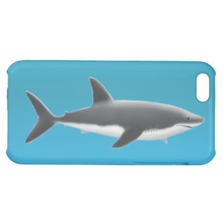 Gran caja del iPhone del tiburón blanco