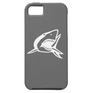 Gran caja gris del iPhone 5 del tiburón blanco iPhone 5 Case-Mate Coberturas