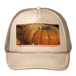 Gran calabaza gorras