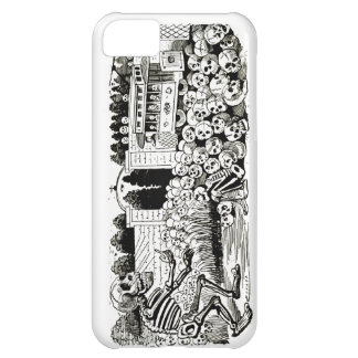 Gran Calavera Eléctrica iphone 5 Barely There case Case For iPhone 5C