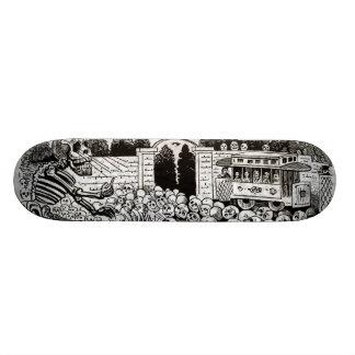 Gran Calavera Eléctrica Skateboard Deck