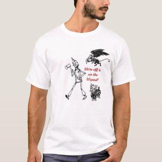 ¡Gran camisa de mago de Oz! Hombre de la lata,