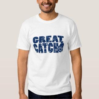 Gran camiseta de la captura playeras