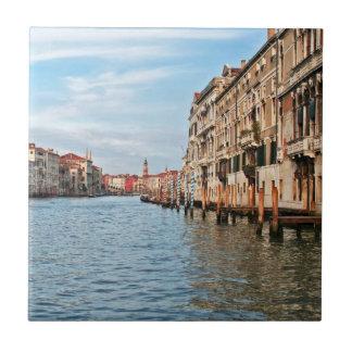 Gran Canal Azulejo Cuadrado Pequeño