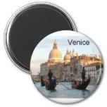 Gran Canal de Italia Venecia (St.K) Imán Redondo 5 Cm