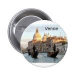 Gran Canal de Italia Venecia (St.K) Pin Redondo 5 Cm