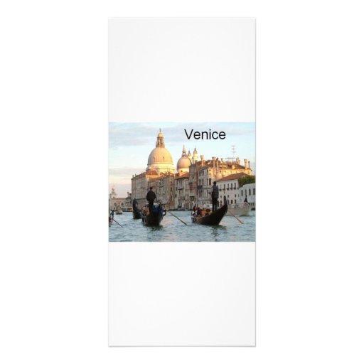 Gran Canal de Italia Venecia (St.K) Tarjeta Publicitaria