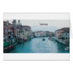 Gran Canal de Italia Venecia (St.K) Tarjetón