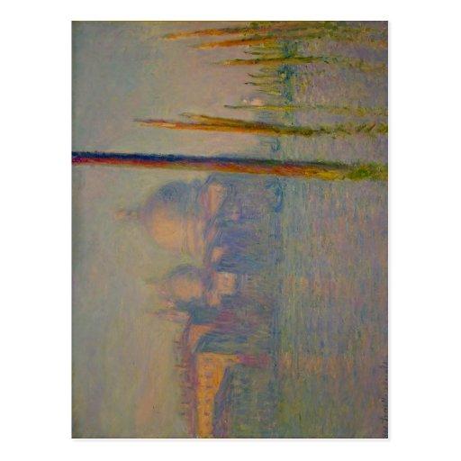 Gran Canal de la descripción, Venecia, 1908 de Cla Postales