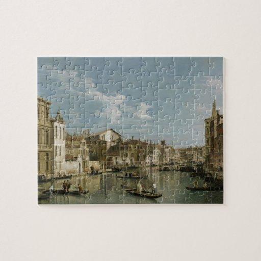 Gran Canal de Palazzo Flangini a Palazzo Bembo Puzzles Con Fotos