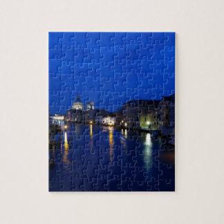 Gran Canal de Venecia por noche Rompecabezas