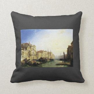 Gran Canal de Venecia puesta del sol de Richard B Almohada