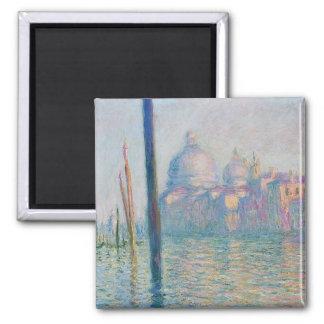 Gran Canal del Le - Monet Imán Cuadrado