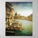 Gran Canal del vintage Impresiones