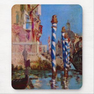 Gran Canal en Venecia de Eduardo Manet Tapete De Raton