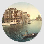 Gran Canal II, Venecia, Italia Etiqueta