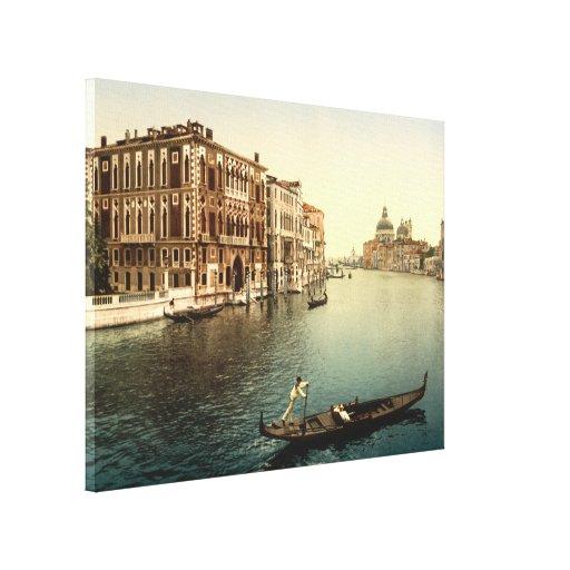 Gran Canal II, Venecia, Italia Lona Estirada Galerías