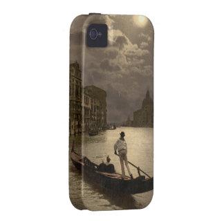 Gran Canal por el claro de luna II, Venecia, Itali Vibe iPhone 4 Carcasa