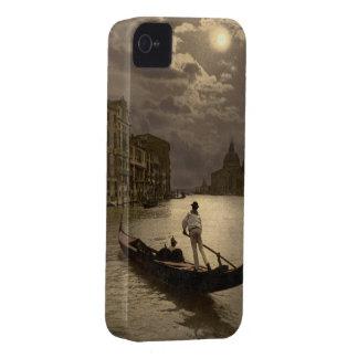 Gran Canal por el claro de luna II, Venecia, Itali iPhone 4 Case-Mate Cárcasas