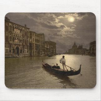 Gran Canal por el claro de luna II, Venecia, Itali Tapete De Ratón