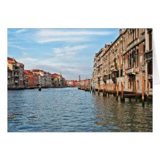 Gran Canal Tarjeta De Felicitación