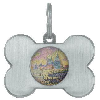 Gran Canal, Venecia de Paul Signac Placa Mascota