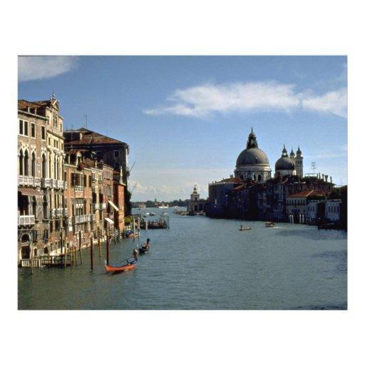 Gran Canal, Venecia, Italia Tarjeta Publicitaria