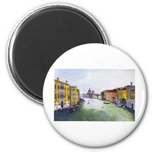 Gran Canal, Venecia, Italia Iman De Frigorífico